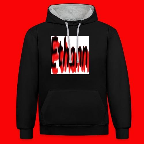 Ethann - Contrast Colour Hoodie