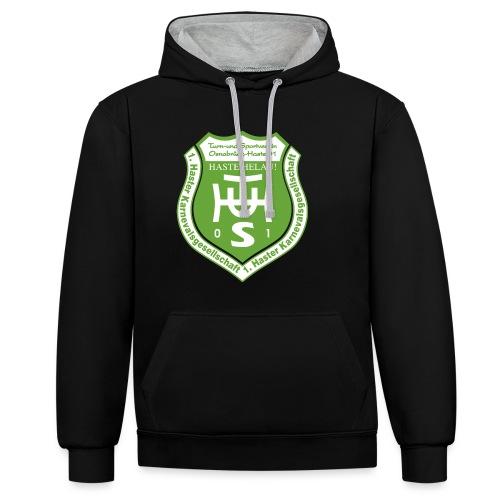 Logo_HKG - Kontrast-Hoodie