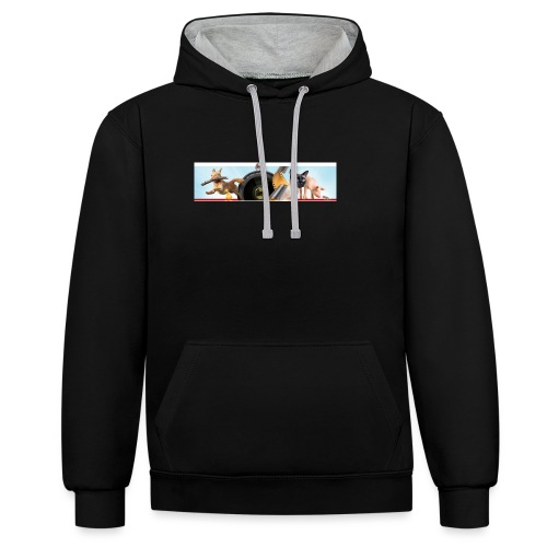 Animaux logo - Contrast hoodie