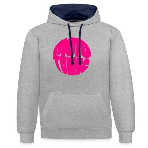 MotoTuning Pink - Contrast Colour Hoodie