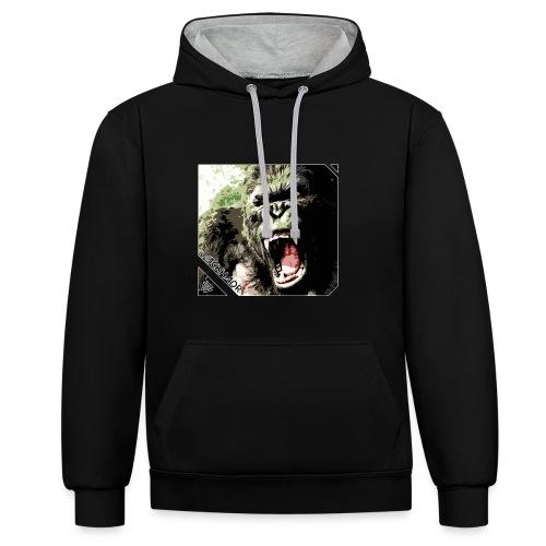 king kong jack hadr goeie 5 png - Contrast hoodie