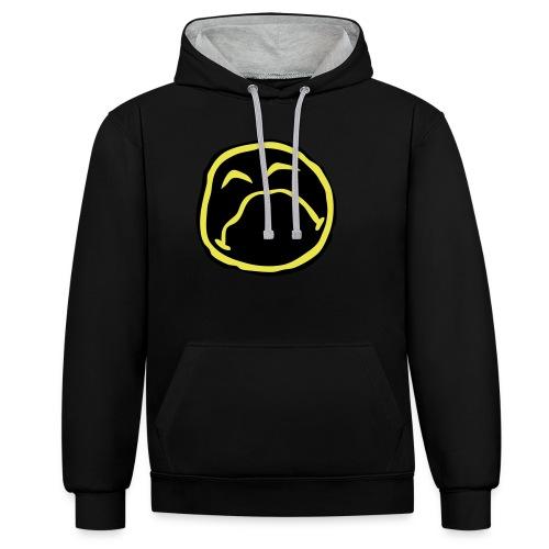 Droef Emoticon - Contrast hoodie