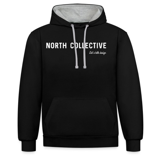 North Collective - Contrast hoodie