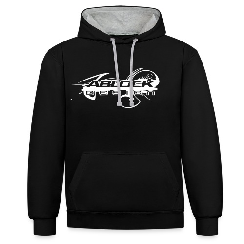 Logo Ablock Splash - Sweat-shirt contraste