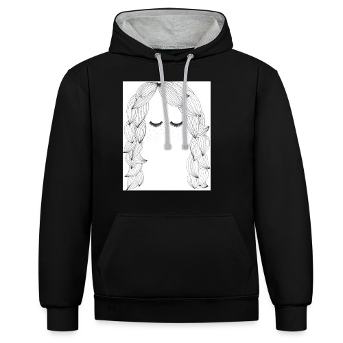 Freckled - Contrast Colour Hoodie