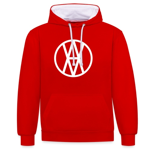Untitled-2 - Contrast Colour Hoodie