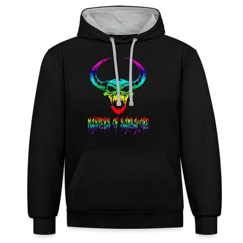 mos2 png - Contrast hoodie