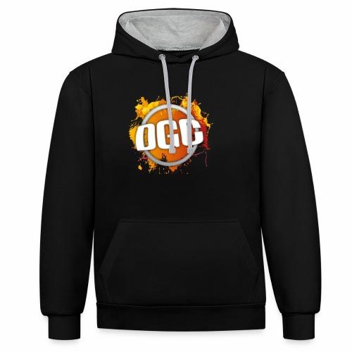 Merchlogo mega png - Contrast hoodie