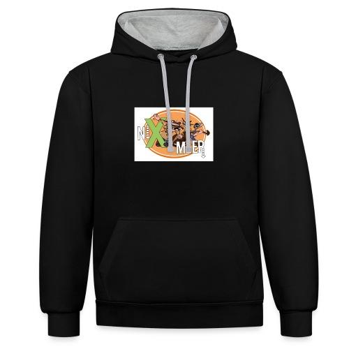 nixenmeer - Contrast hoodie