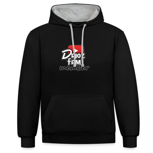 DriozFam Member Merch - Contrast Colour Hoodie