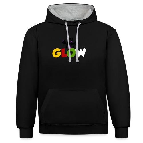 Minecraft - Glow - Kontrast-Hoodie