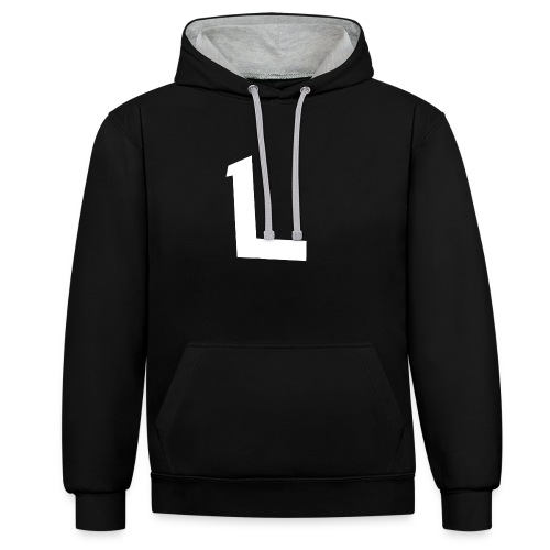 IMG 4304 - Contrast Colour Hoodie