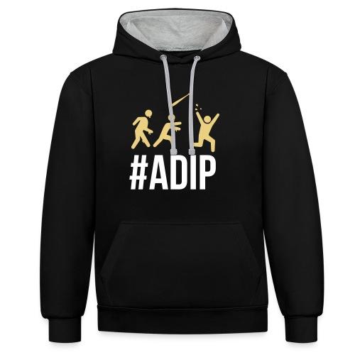 ADIP Picto 1 - Kontrast-Hoodie