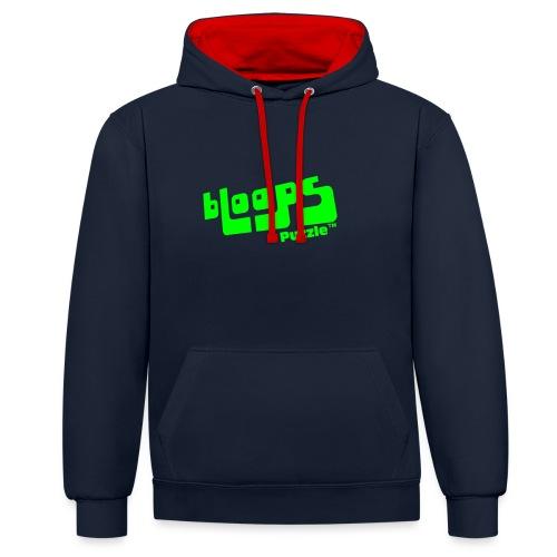 Women's Organic Tank Top bLoops Puzzle™ - Contrast hoodie