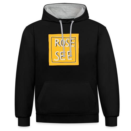 Logo voor druk op textiel - Contrast hoodie