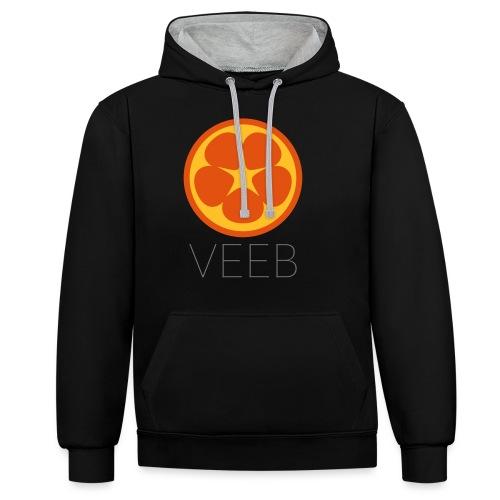 VEEB - Contrast Colour Hoodie