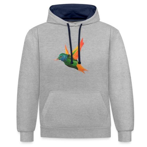 EXOTIC BIRD - MINIMALIST - Sweat-shirt contraste