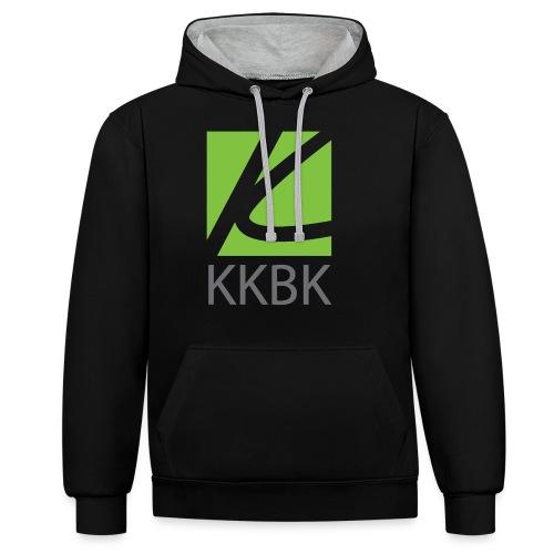 KKBK Logo - Kontrast-Hoodie