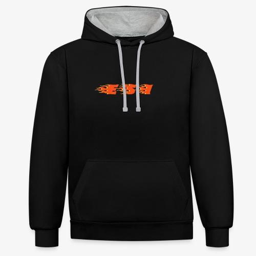 Flame - Contrast hoodie