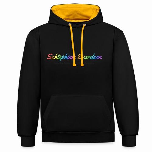Schtephinie Evardson: Special Edition Gay Pride - Contrast Colour Hoodie