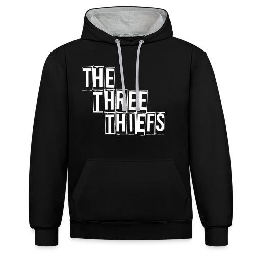 The three thiefs - Kontrast-Hoodie