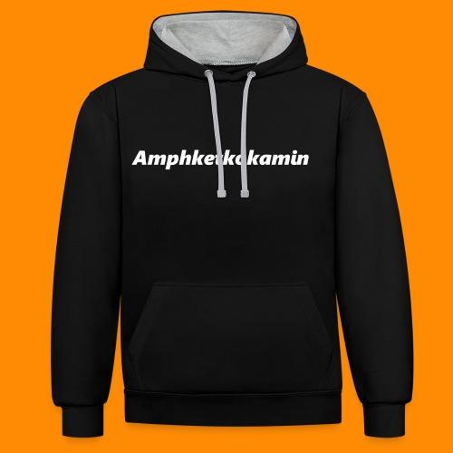Amphketkokamin - Kontrast-Hoodie