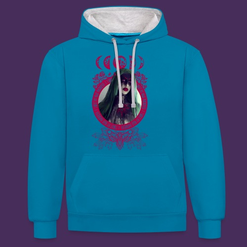 Trust in Madness - Contrast Colour Hoodie