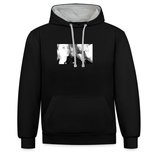 MEGAN ABI AND GEORGINA MERCH - Contrast Colour Hoodie