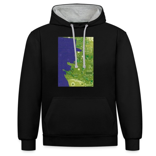 Rinus Van De Melkwegboer - Contrast hoodie