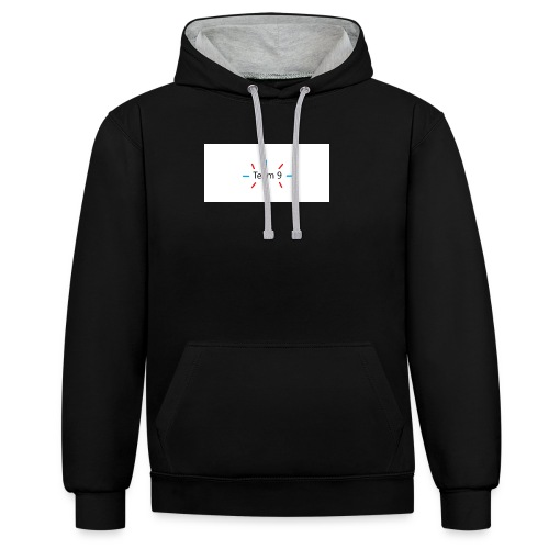 Team 9 - Contrast Colour Hoodie