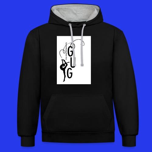 GUG logo - Kontrast-Hoodie