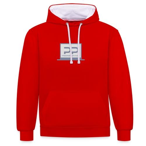muismat met logo - Contrast hoodie