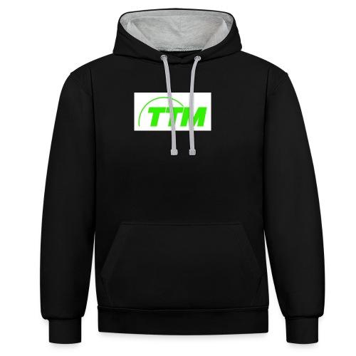TTM - Contrast Colour Hoodie