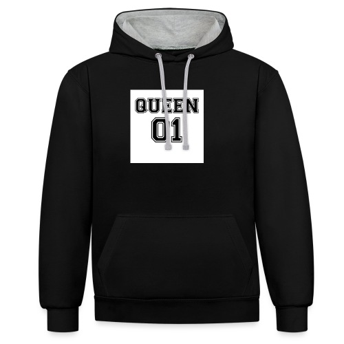 Queen 01 - Sweat-shirt contraste