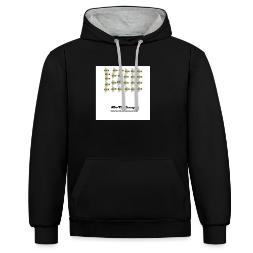 BeTheChange 1 - Contrast Colour Hoodie