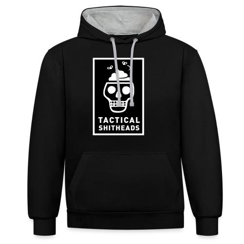 Tacshit Shitheadskull - Kontrast-Hoodie