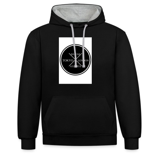 Four City Design - Contrast Colour Hoodie