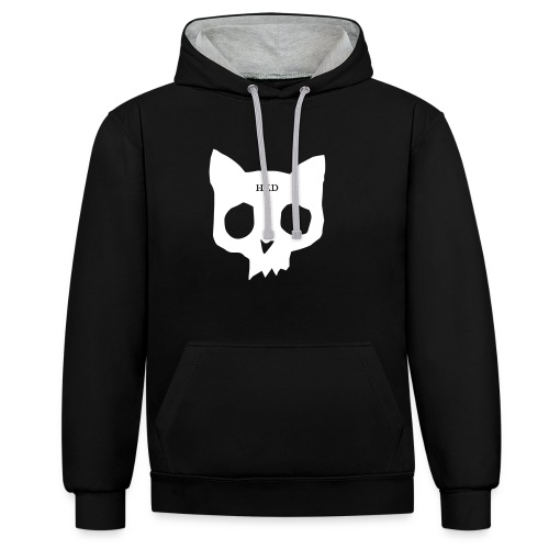Car skull - Contrast Colour Hoodie