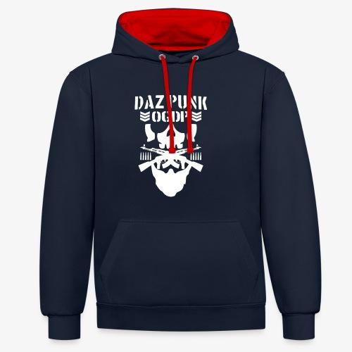 Daz Punk - Contrast Colour Hoodie
