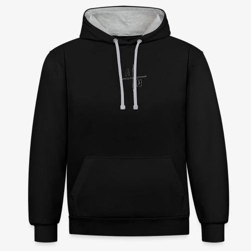 AltijdMitchell Cross Logo - Contrast hoodie