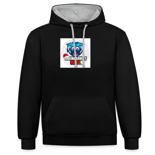 DoeMaarNiet.Okhe - Contrast hoodie