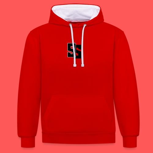 SSs Cloths - Contrast Colour Hoodie