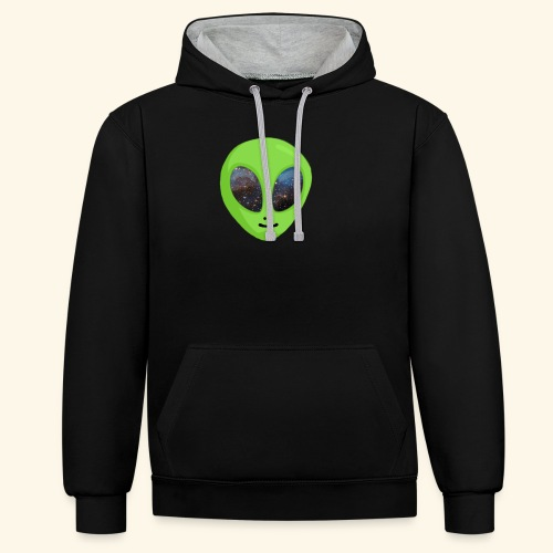 ggggggg - Contrast hoodie