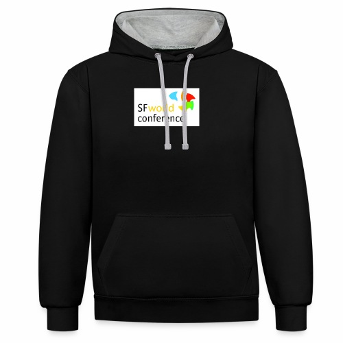 SFworldconference T-Shirts - Kontrast-Hoodie