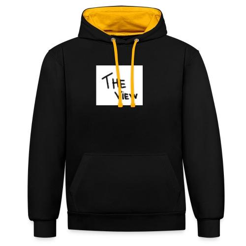 Untitled - Contrast hoodie