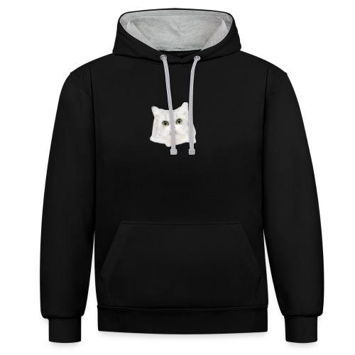 CAT DAY COLECCION - Sudadera con capucha en contraste