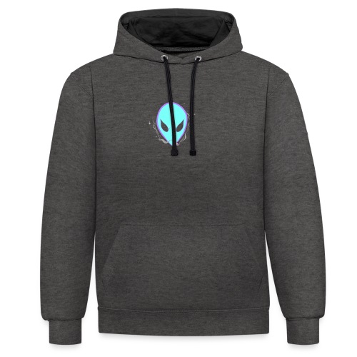 People alienate me. I'm out of this world - Contrast Colour Hoodie