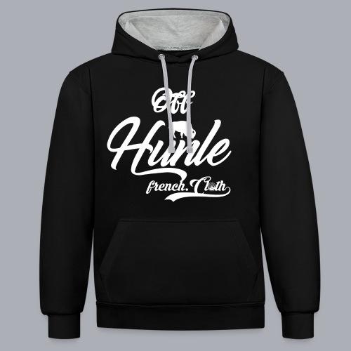 HnL Hunle n°5 - Sweat-shirt contraste