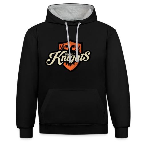 Logo classic met hoofd - Contrast hoodie