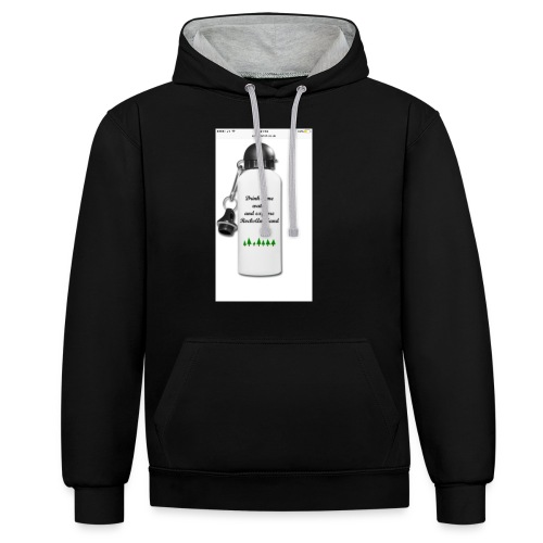 RocksAndSand adventure bottle - Contrast Colour Hoodie